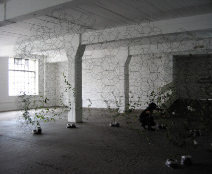 Experiments in living design and architectural structures using textile principles, 2005