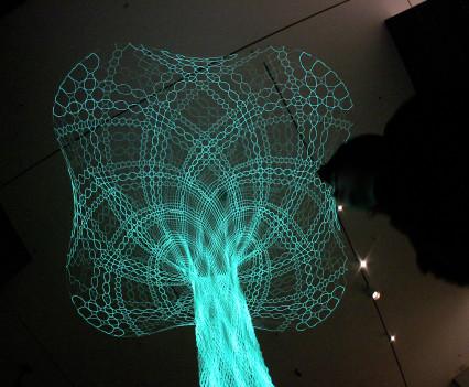 Animated Lace at the MoMA, NY, 2007