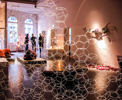 The exhibition was about transformation: turning banal materials, processes and objects into an unexpected design with its own story.