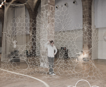 A brand new Archilace commission and Sonumbra showcase for Futuro Textiles 3 was commissioned by Lille3000 in Barcelona.