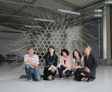 A creative workshop that explored smart textiles and interdisciplinary experiments for 2011 Kauno Bienale, Lithuania
