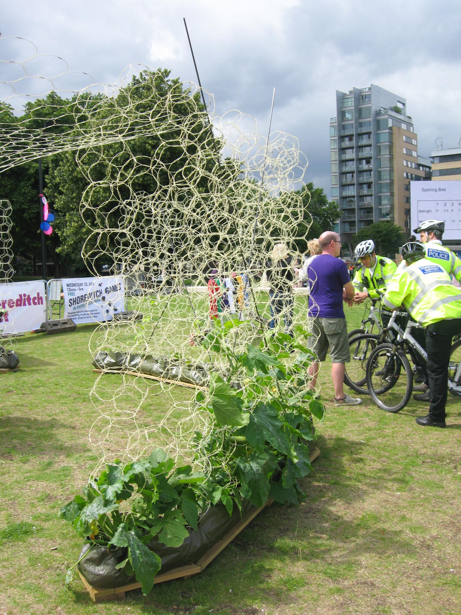 Shoreditch Gardens: Shoreditch Festival Pavilion